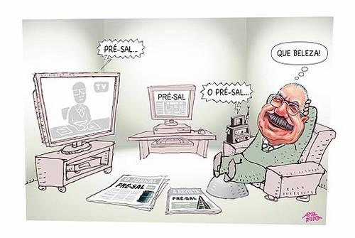 Além de ser ajudado pelos factóides do governo Lula, como esse do pré-sal, como bem registrou Amarildo, Sarney tem se especializado em criar os seus: anular os atos secretos e acabar com cargos foram dois deles. Tudo balela.